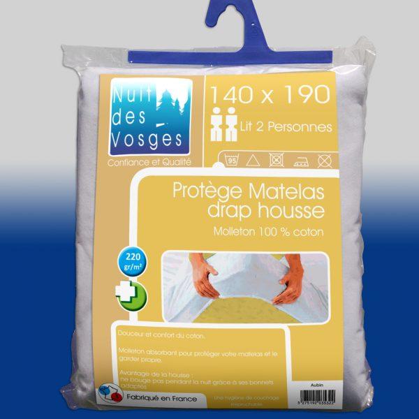 Protège matelas molleton