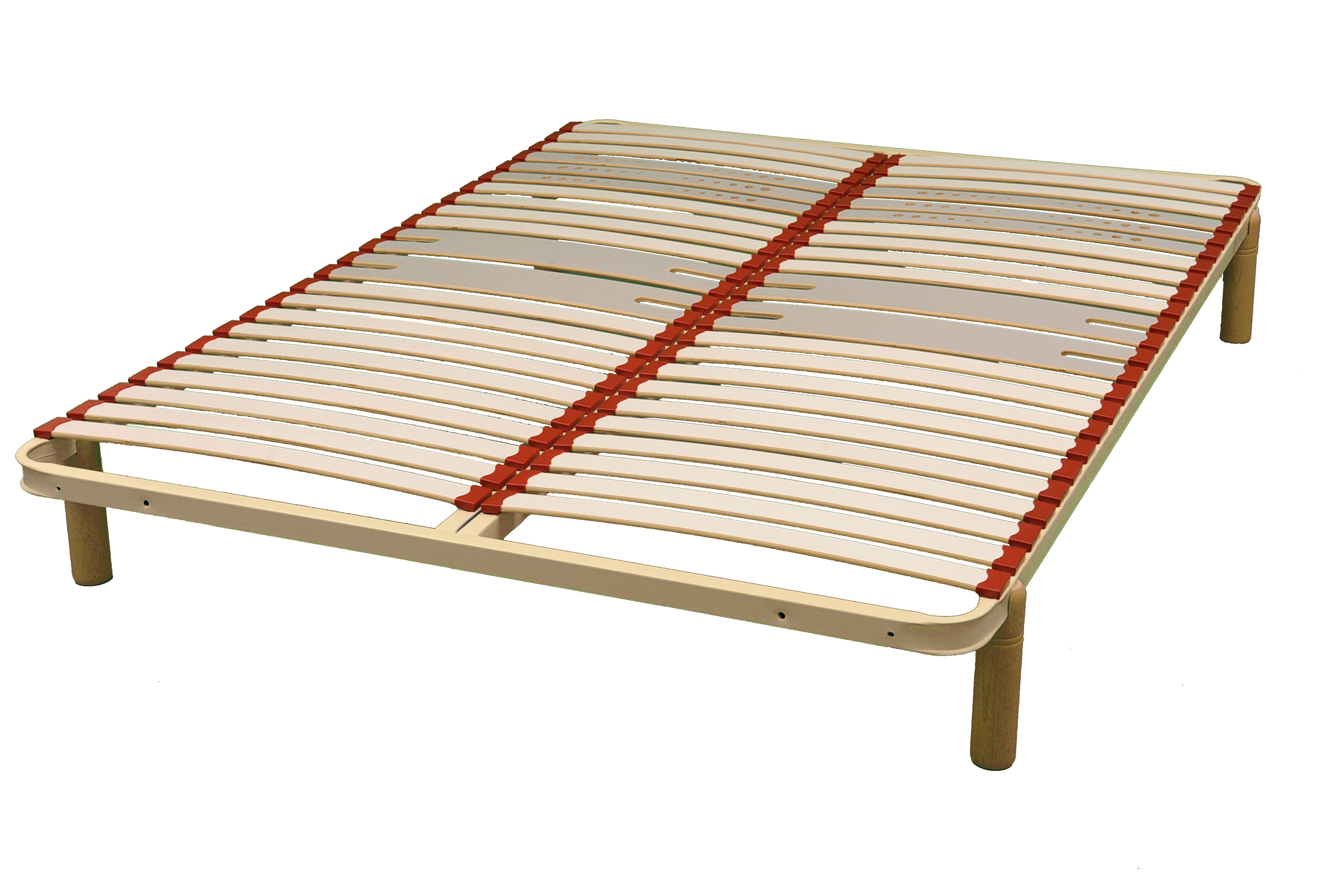 Sommier Cadre Fer Extra Lattes Matelas Gepo