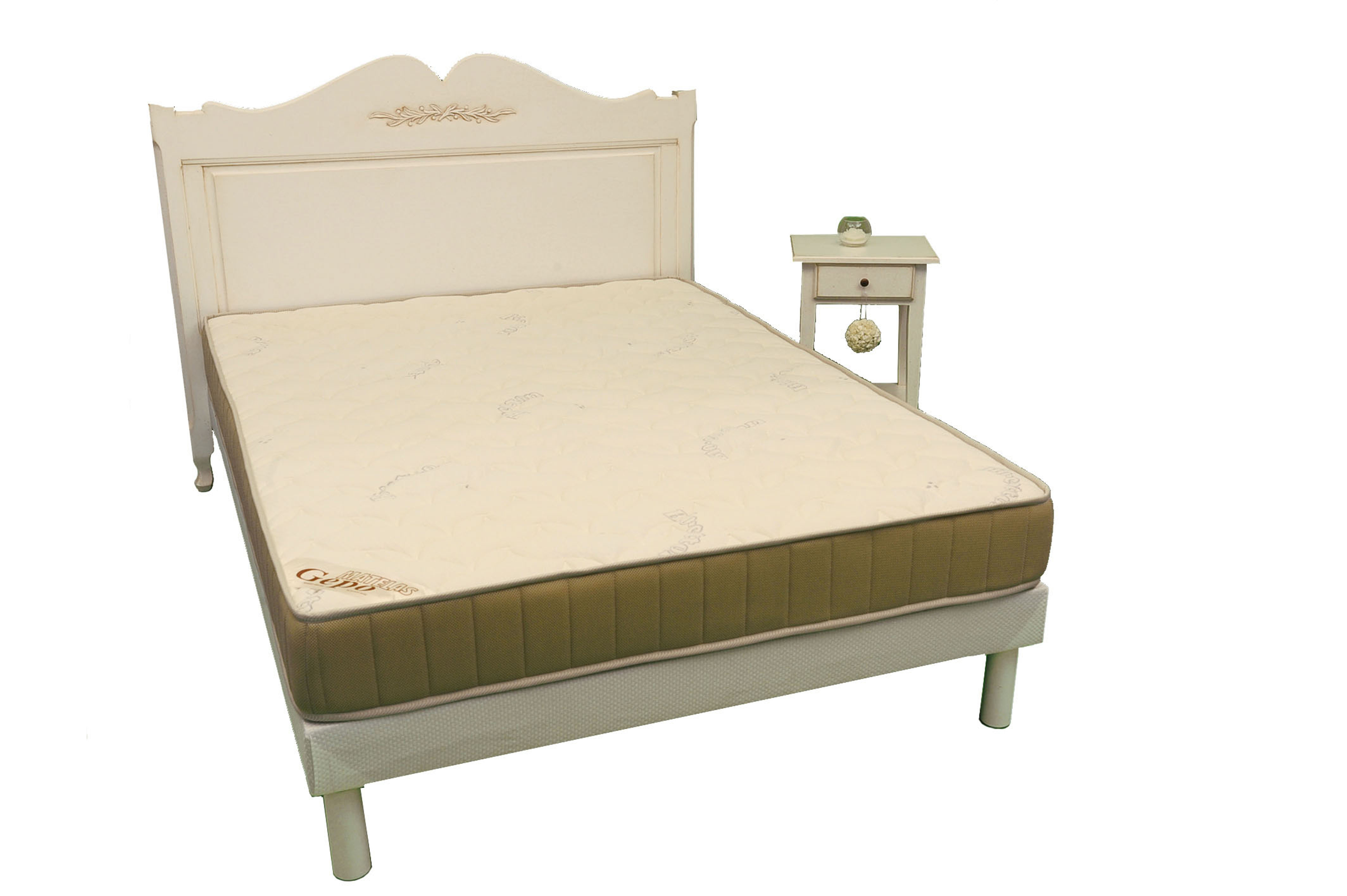 sommier lattes cadre bois orlando matelas gepo. Black Bedroom Furniture Sets. Home Design Ideas