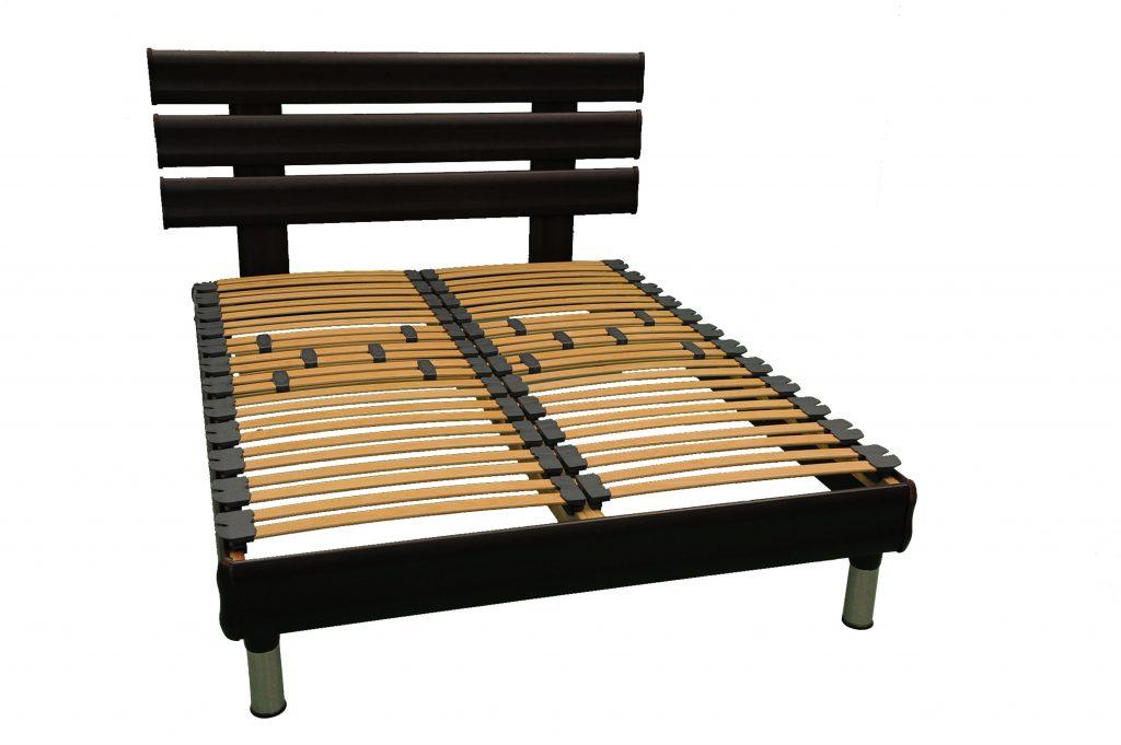 sommier lattes cadre bois orly matelas gepo. Black Bedroom Furniture Sets. Home Design Ideas