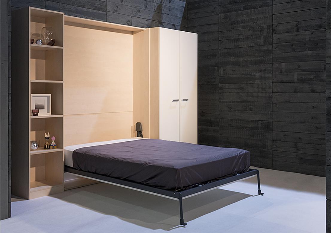lit escamotable matelas gepo. Black Bedroom Furniture Sets. Home Design Ideas